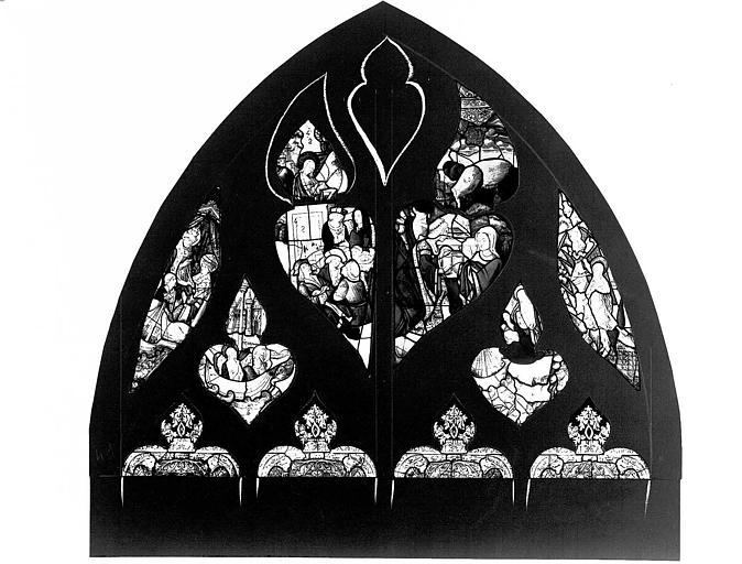 Verrière : la Vie de sainte Marie-Madeleine