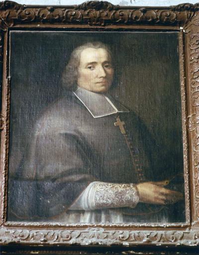 Tableau, cadre : Charles-Louis de Froullay, évêque du Mans