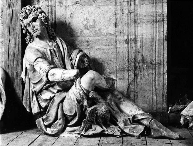 statue : Saint Jean l'Evangéliste, provenant de l'ancien jubé