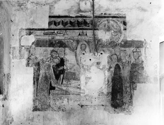 peinture monumentale : La mort de saint Hilaire