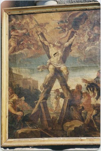Tableau : Le Martyre de saint André, vue générale