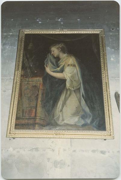 Tableau, cadre : La Madeleine Pénitente, vue générale