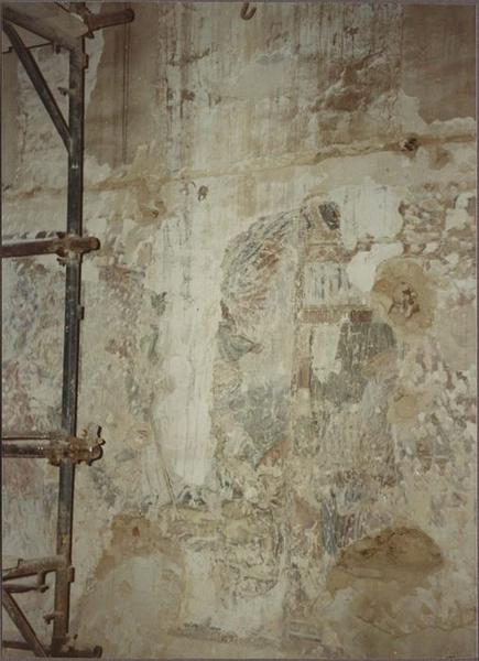 Peintures monumentales, vue partielle