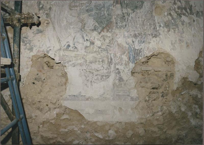 Peintures monumentales, détail