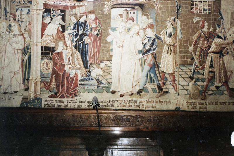 5 pièces murales : Scènes de la légende de saint Gervais et saint Protais