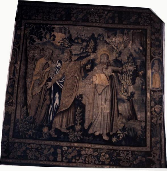 Pièce murale : La Vocation de saint Thomas, vue générale