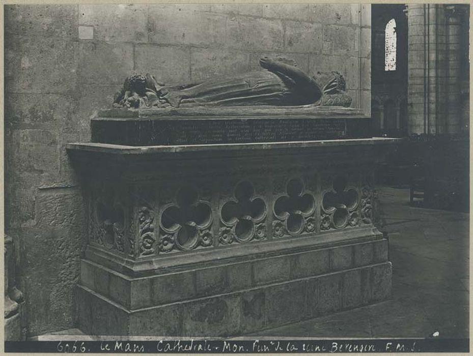 Monument funéraire de la Reine Bérengère, veuve de Richard Coeur de Lion
