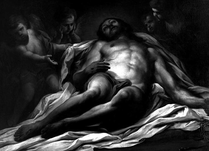 Tableau : Le Christ mort