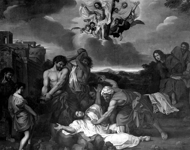 Tableau : Le Martyre de saint Etienne