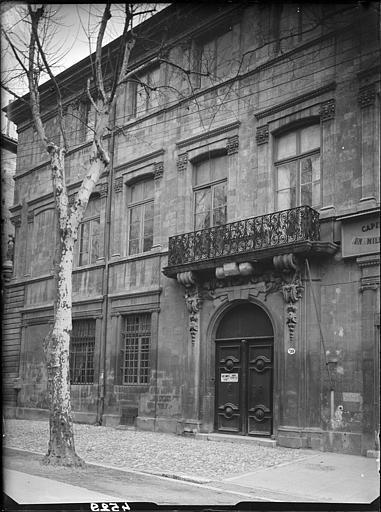 Vue d'ensemble de la façade
