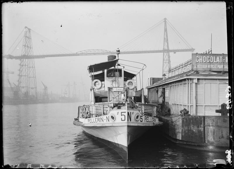 Le Pellerin n°5, bateau de passagers pour la liaison Nantes Saint-Nazaire