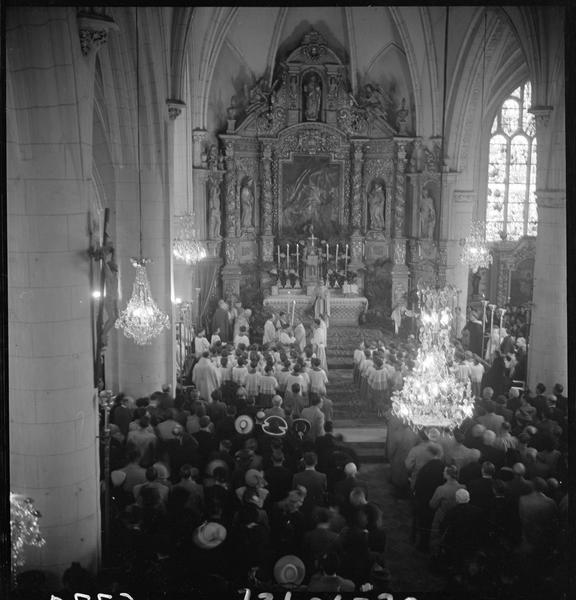Cérémonie religieuse : la messe dans l'église