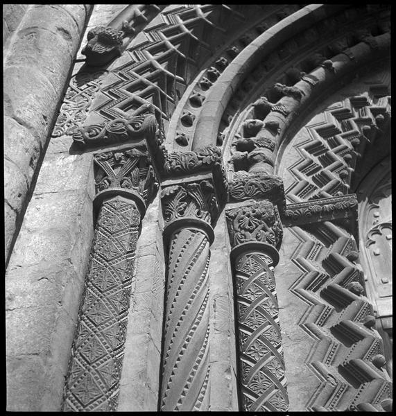 Détail de la façade ouest