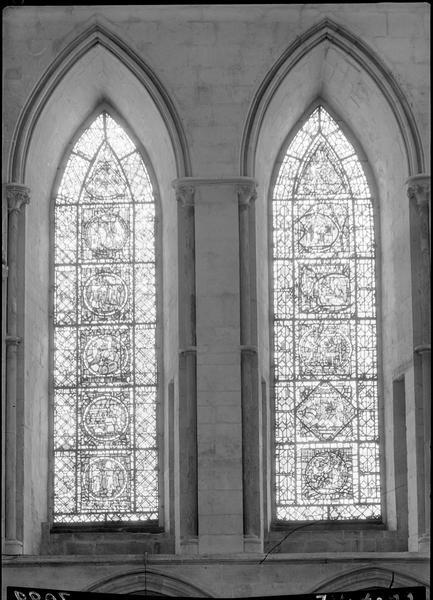 Vitraux du grand transept sud-ouest