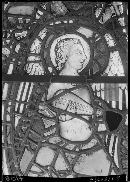 Vitrail du grand transept nord-ouest
