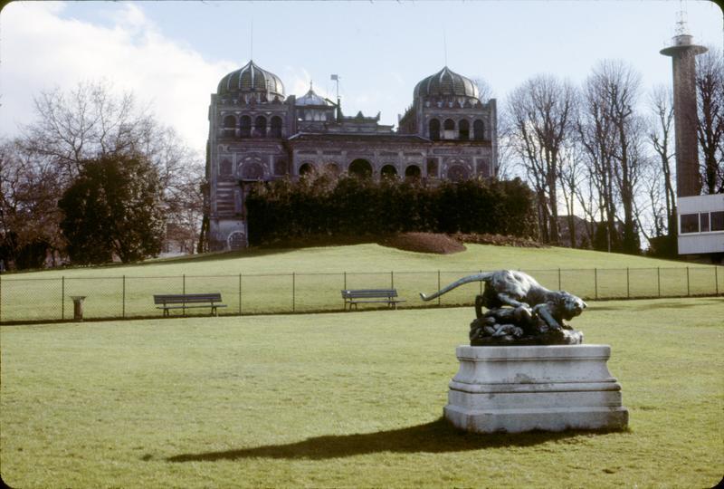 L'ancien Palais du Bardo dans le parc