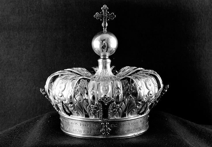 Petite couronne en vermeil et brillants (dos)