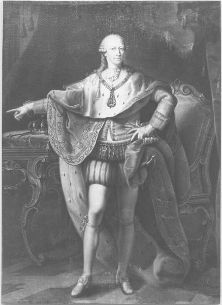 Tableau : portrait présumé de Victor Amédée III de Sardaigne, vue générale
