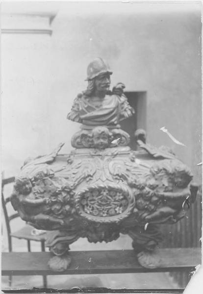 Châsse d'un martyr de la Légion Thébaine