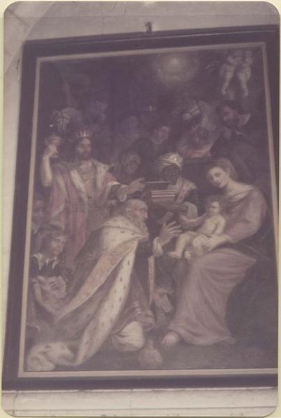 Tableau: Adoration des mages (l'), vue générale