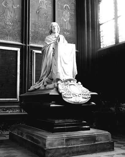 Monument funéraire du cardinal Louis Antoine de Noailles, archevêque de Paris