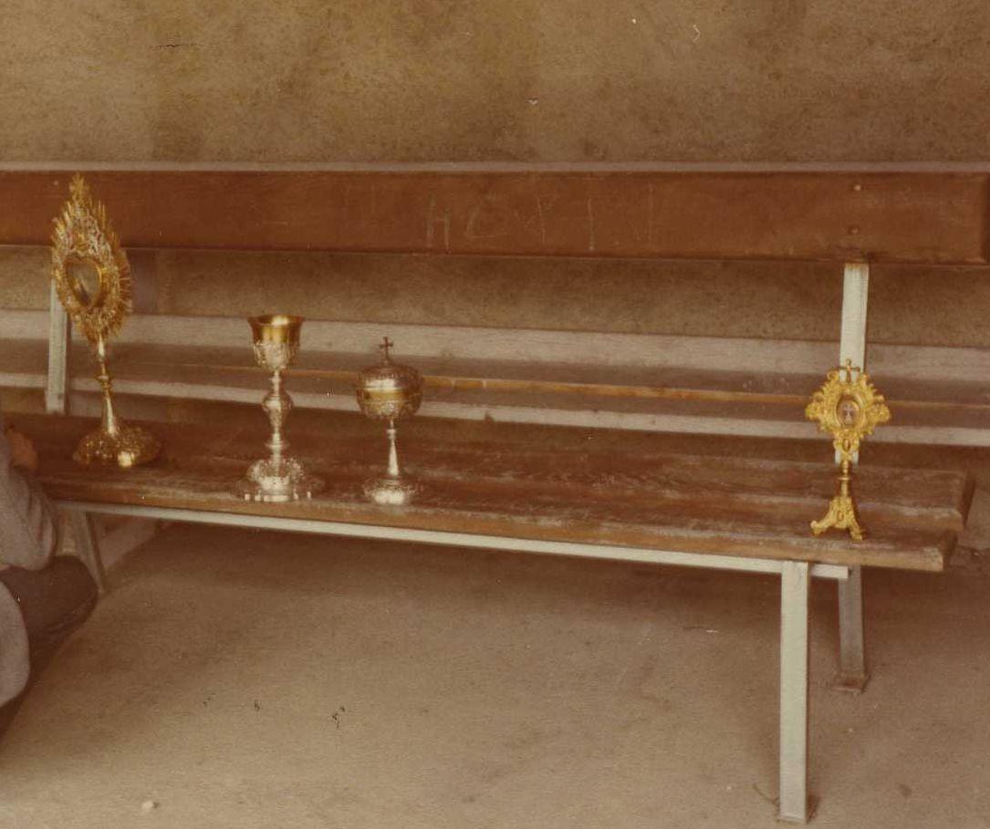 reliquaire de la Vraie Croix, reliquaire sur pied, ciboire, calice