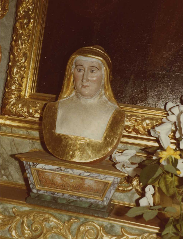 buste-reliquaire : Sainte Jeanne de Chantal