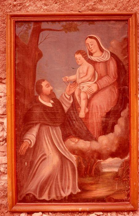 tableau: Institution du Rosaire