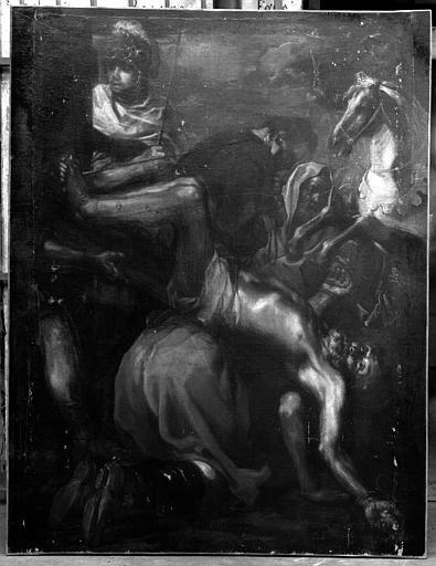 Tableau : Le Martyre de saint Pierre