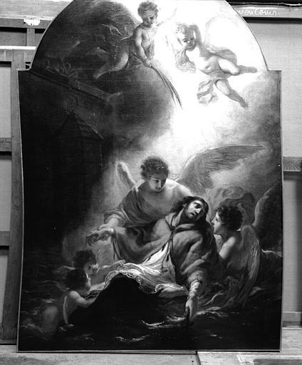 Tableau : la Mort de saint Jean Népomucène