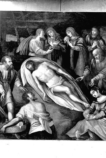Déposition de Croix, peinture sur toile