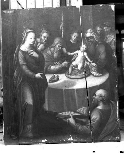 Circoncision, peinture sur toile