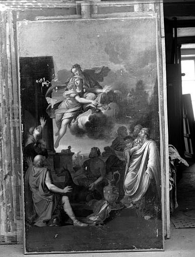 Sacrifice d'Iphygénie, peinture sur toile de la galerie