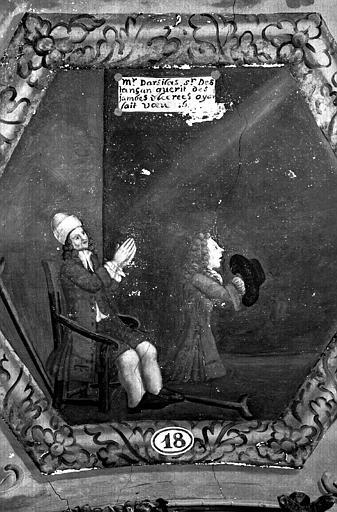 Narthex, peinture murale n°18