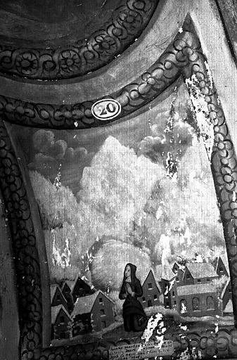 Narthex, peinture murale n°20