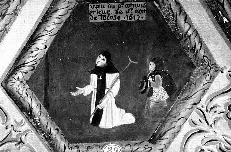 Narthex, peinture murale n°29