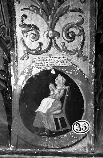 Narthex, peinture murale n°35