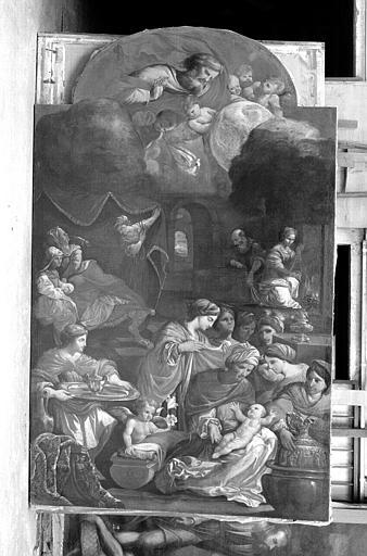 La Nativité de la Vierge, peinture sur toile