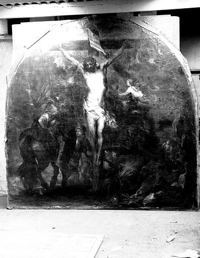 Crucifixion, peinture sur toile