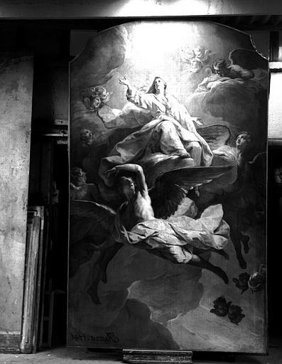 Assomption, peinture sur toile