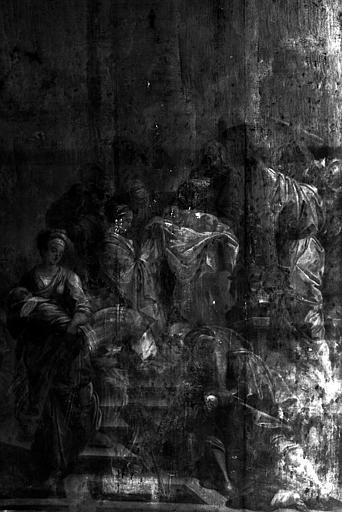 Présentation au temple, peinture sur toile