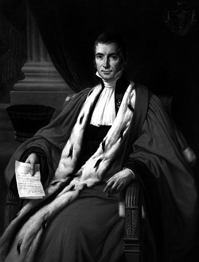 Monsieur de Maleville, peinture sur toile
