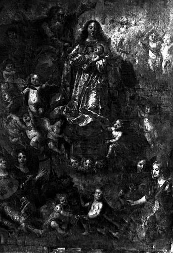 Assomption de la Vierge, peinture sur toile