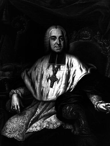 Guillaume Florentin, prince de Salm, évêque de Tournay, peinture sur toile
