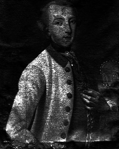 Léopold Rhingrave, prince de Salm, peinture sur toile