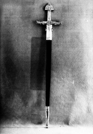 Epée de l'enterrement de Louis XVIII (revers)