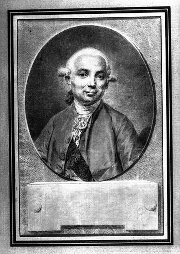 Dessin : Portrait d' Etienne de Montgolfier