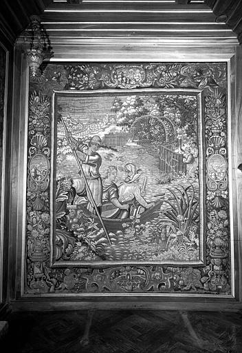 Chasses du Roi François, tapisserie en laine et soie