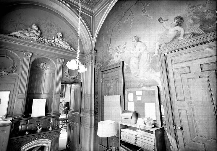 Bureau du régisseur du premier étage