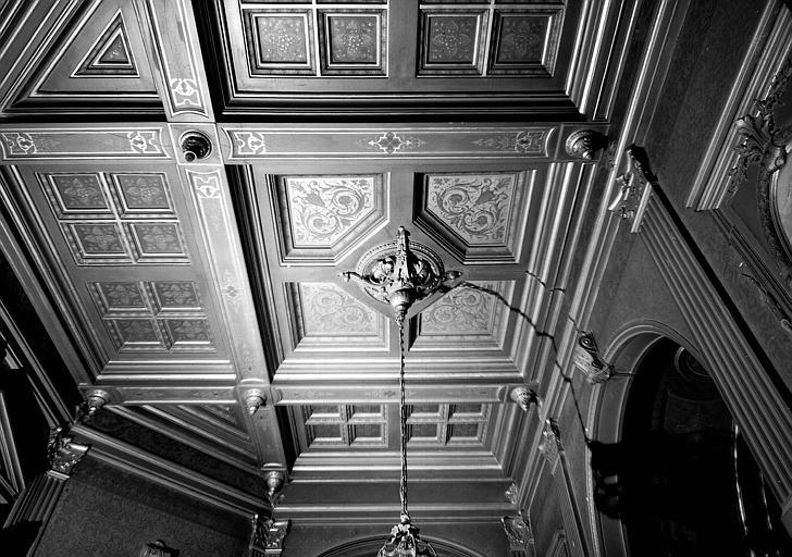 Plafond du vestibule du premier étage
